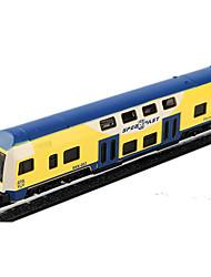 Недорогие -Игрушечные машинки Машинки с инерционным механизмом Поезд Фермерская техника Игрушки моделирование Шлейф Автомобиль Металлический сплав