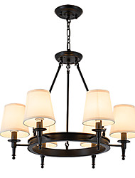cheap -LightMyself Flush Mounted Fixture Chandelier 6 Lights One Light Two Style Modern/Contemporary Traditional/Classic Rustic Painting