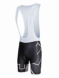 cheap -ILPALADINO Men's Cycling Bib Shorts Bike Bib Shorts / Bottoms 3D Pad, Quick Dry, Windproof Fashion Lycra Black / White Bike Wear