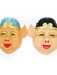 cheap -Halloween Masks Holiday Supplies Cartoon Mask Toys Horror Cartoon Pieces Unisex Gift