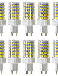 cheap -YWXLight® Dimmable 10W G9 LED Bi-pin Lights 86 SMD 2835 850-950lm Warm White Cold White Natural White 2800/4000/6000K 220V