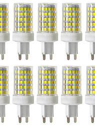 preiswerte -ywxlight® dimmbar 10w g9 led bipol-leuchten 86 smd 2835 850-950lm warmweiß kaltweiß naturweiß 2800/4000 / 6000k 220v