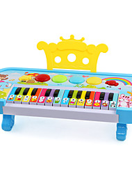 cheap -LED Lighting Dollhouse Accessory Electronic Keyboard Toy Musical Instrument Piano Fun Children's