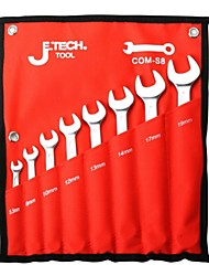 Jtech Metric Combination Wrench Set 6 Pack Com-S6B/1