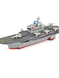 cheap -Toys Model Building Kit Aircraft Carrier Toys Aircraft Carrier Metal Alloy Pieces Unisex Gift