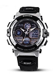 Homens Relógio Esportivo Relógio de Moda Relógio de Pulso Relógio Casual Quartzo Noctilucente PU Banda Preta