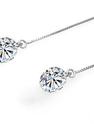 cheap -Women's Drop Earrings / Pendant - Sterling Silver Silver For Birthday / Daily