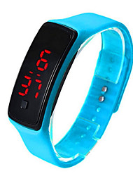 LED Electronic Bracelet Fashion Lovers Bracelet LED Silicone Bracelet Sports Smart Bracelet