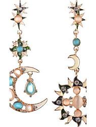 Women's Stud Earrings Drop Earrings Synthetic Opal Rhinestone Basic Unique Design Rhinestones Friendship Personalized Hip-Hop