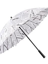 billige -Paraply med langt håndtag Herrer