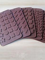 2 pezzi torta muffe novità utensili da cucina pane torta al cioccolato gel di silice strumento di cottura creativo diy colore casuale