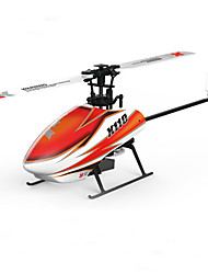 cheap -RC Helicopter XK K110 6CH 3 Axis 2.4G Brushless Electric - Remote Control Flybarless