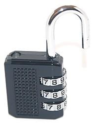 51614 senha desbloqueada senha de 3 dígitos bloqueio de bagagem bloqueio de senha e bloqueio de senha