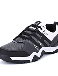 Running Shoes Men's Athletic Shoes Comfort Light Soles PU Spring Fall Athletic  Comfort Light Soles   Flat HeelBlack/Red Black/White Green