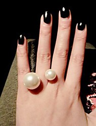 Women's Cuff Ring Imitation Pearl Euramerican Fashion Alloy Jewelry Daily 1pc