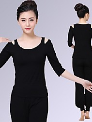 Yoga Tops Moisture Wicking Casual/Daily Sports Wear Yoga Pilates Dancing Women's