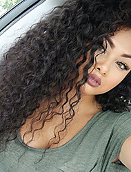 cheap -lace front wigs human hair curly wigs for women with baby hair brazilian remy human hair wavy glueless lace front wig 180 density