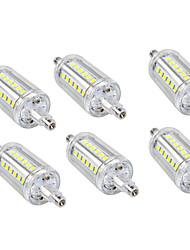 Недорогие -6шт 5W 150lm LED лампы типа Корн 36 Светодиодные бусины SMD 2835 Тёплый белый Холодный белый 110-240V 110-120V 220-240V