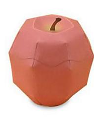 Недорогие -3D пазлы Бумажная модель Оригами Наборы для моделирования Квадратный Овощи Ножи для овощей и фруктов Овощи и фрукты Фрукт 3D Своими руками
