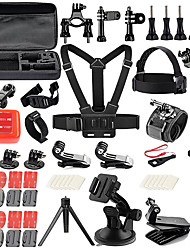 abordables -Kit Accesorios Mini Estilo Al Aire Libre Estuche Multi Function Bolsos Para Cámaras Ajustable por Cámara acción Gopro 6 Todas las cámaras