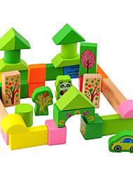 baratos -Blocos de Construir para presente Blocos de Construir 3-6 anos de idade Brinquedos