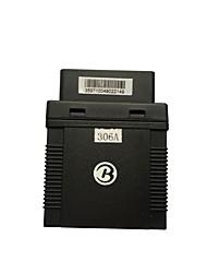 Obdii détecteur de défaut gps locator tk306a envoyer plate-forme d'application 1 an gps306a sos fence alarme de vibration mobile