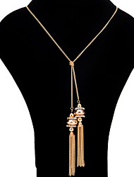 cheap -Women's Shape Personalized Luxury Unique Design Dangling Style Tassel Classic Bohemian Sexy Friendship British USA Movie Jewelry Elegant