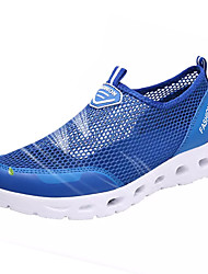 cheap -Women's Athletic Shoes Comfort Spring Fall Tulle Water Shoes Outdoor Flat Heel Light Grey Blushing Pink Royal Blue Under 1in