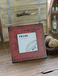 Picture Frames Casual Retro Novelty Wooden 1 Table Home Furnishing Creative Decoration Photos