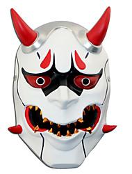Masque Inspiré par Overwatch Death the Kid Manga Accessoires de Cosplay Résine Plexiglass