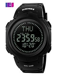 Недорогие -SKMEI Муж. электронные часы Модные часы Наручные часы Спортивные часы Цифровой PU Группа Черный Зеленый