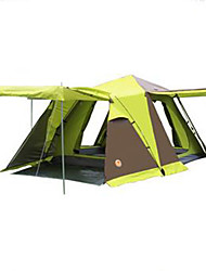 cheap -3-4 persons Tent Double Camping Tent Fold Tent Keep Warm Dust Proof for Camping / Hiking Other Material CM