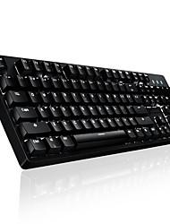 S138 104Keys RGB USB Light Emitting Mechanical Keyboard Tea Axis With 180CM Cable