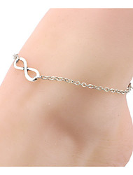 Women's Anklet/Bracelet Ferroalloy Natural Friendship Fashion Number Jewelry For Party Daily Casual Outdoor clothing Date Club