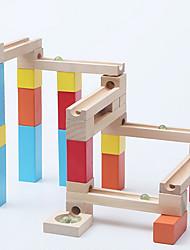 Недорогие -Обучающая игрушка Наборы мраморных треков Игрушки 3D Дерево Высокое качество 1 Куски День детей Рождество Подарок