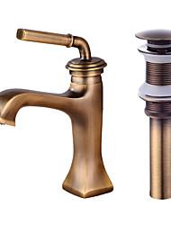 Centersat Et Hul Håndvasken vandhane