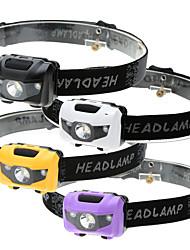 Недорогие -Налобные фонари 500 lm Светодиодная лампа LED излучатели 4.0 Режим освещения Водонепроницаемый 3 режима Светодиодная лампа Походы / туризм / спелеология Повседневное использование Велосипедный спорт