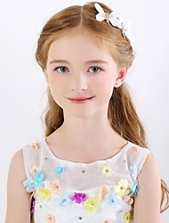 1Pcs Girls Hairpin White Butterfly Design Lovely Hair Accessory