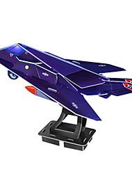 abordables -Puzzles 3D Puzzle Kits de Maquette Jouets Avion Chasseur Bâtiment Célèbre Architecture 3D A Faire Soi-Même Papier cartonné Non spécifié