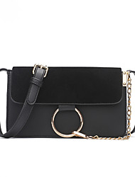 cheap -Women's Bags PU Crossbody Bag for Casual All Seasons Blue Black Gray Brown