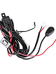 cheap -3M Length Extend Wire 1-2 Relay Harness Kit with Switch On/off using for LED Work Light/LED Light Bar(1 set)