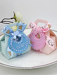 Others Card Paper Nonwoven Fabric Favor Holder With Laces Favor Boxes-12
