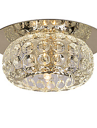 cheap -LightMyself™ Modern / Contemporary Flush Mount Ambient Light - Crystal Mini Style, 110-120V 220-240V Bulb Included