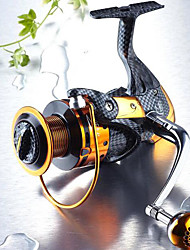 Fishing Reel Bearing Spinning Reels 5.1:1 13 Ball Bearings Exchangable Sea Fishing Freshwater Fishing Lure Fishing General Fishing