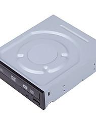 Ihas324 liteon 24x velocità sata interfaccia bruciatore dvd masterizzatore 0,72kg protezione doppia mute shock