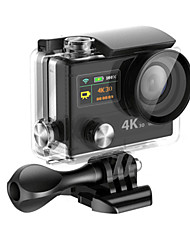 cheap -H8RS 12 MP 4032 x 3024 WiFi Waterproof Wide Angle Anti-Shock 60fps 30fps 4x 0 2 CMOS 32 GB H.264 Single Shot 30 M