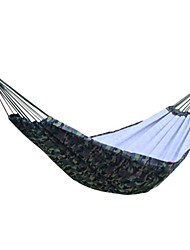cheap -Camping Hammock Outdoor Casual / Daily Canvas, Cotton, Nylon for Camping / Camping / Hiking / Caving / Outdoor - 2 person Army Green