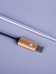 Rimozione visiva visiva usb mini-macchina fotografica pulire l'orecchio luce scavare cucchiaio d'orecchio medico grado orecchio cura