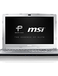 Ordinateur de jeux msi 15.6 pouces intel i7-7700hq 8gb ddr4 1tb hdd windows10 gtx1050 4gb pe62 7rd-1251cn