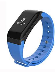 billige -F1 Smart Armbånd Android iOS Bluetooth Sport Vandtæt Pulsmåler Blodtryksmåling Touch-skærm Skridtæller Samtalepåmindelse Aktivitetstracker Sleeptracker Stillesiddende Reminder / Brændte kalorier